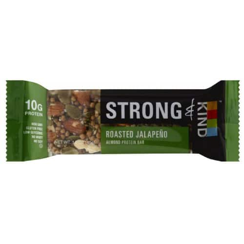 KIND Roasted Jalepeno Sweet and Spicy Bar, 10g Protein [Roasted Jalepeno] - 25% Off Average Price $10.8