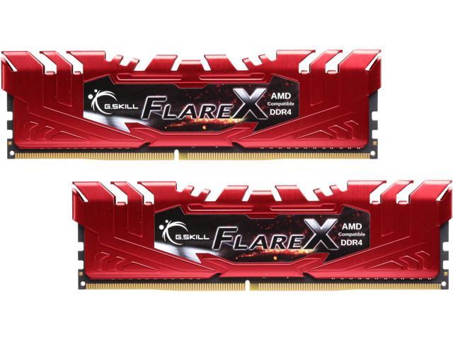 G.SKILL Flare X Series 16GB for AMD Ryzen (2 x 8GB) DDR4 2400 (PC4 19200) SDRAM  $145