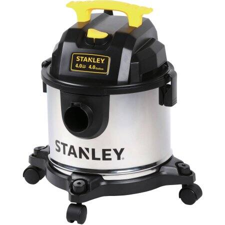 YMMV Select Walmart Stores: Stanley 4 Gallon 4 Peak HP Stainless Steel Wet/Dry Vac $11