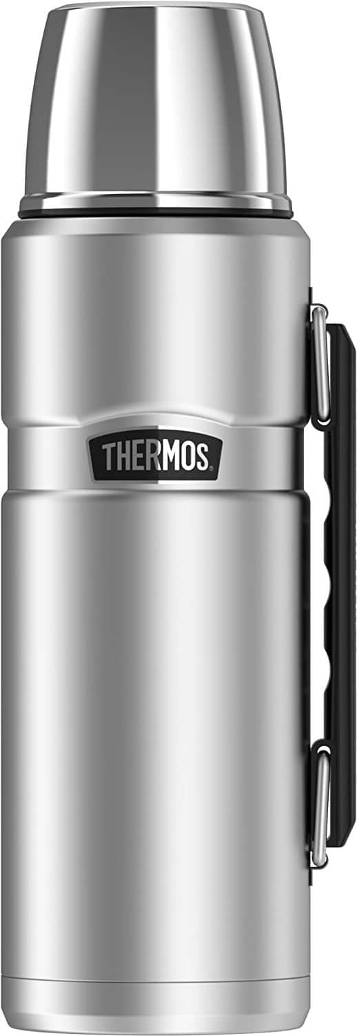 Thermos Stainless King 40 Ounce Beverage Bottle, Stainless Steel $19.54