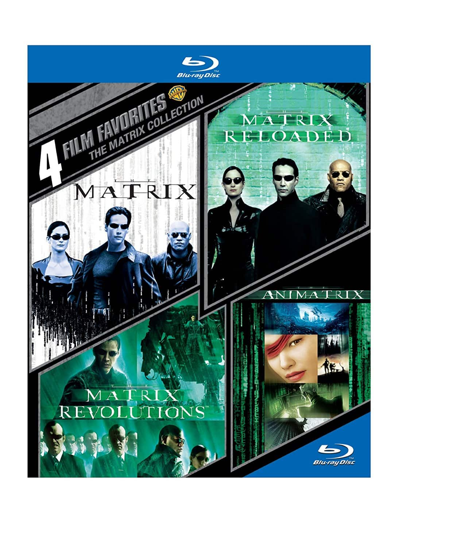 4 Film Favorites: The Matrix Collection [Blu-Ray] $10 @ Amazon