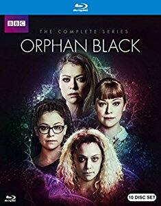 Orphan Black Complete Collection [Blu-Ray] - $55 @ Amazon