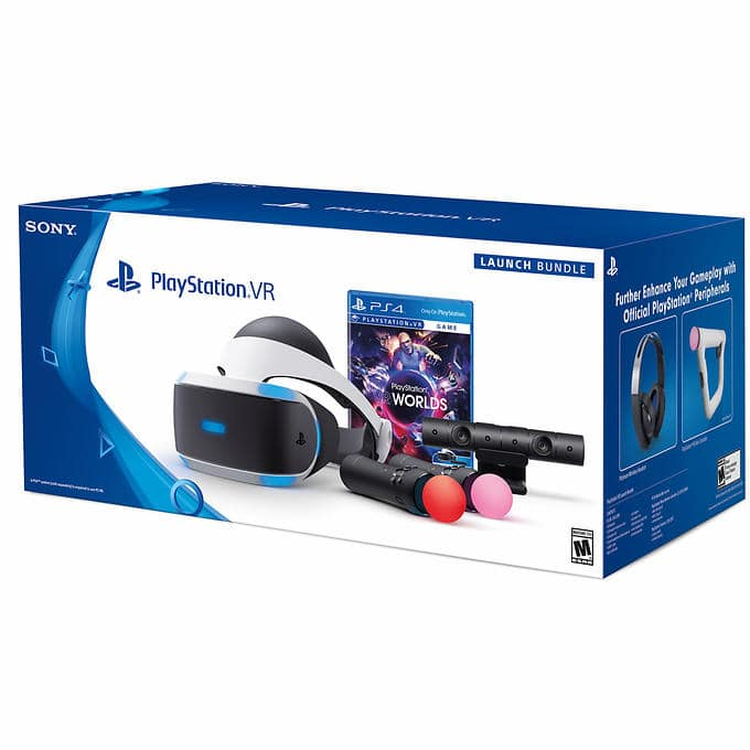 PlayStation VR Launch Bundle at Costco.com for $449.99 (Shipping & Handling Included) Plus Sales Tax