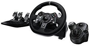 Logitech G920 or G29 Driving Force Racing Wheel & Logitech G Driving Force Shifter Bundle $239.98