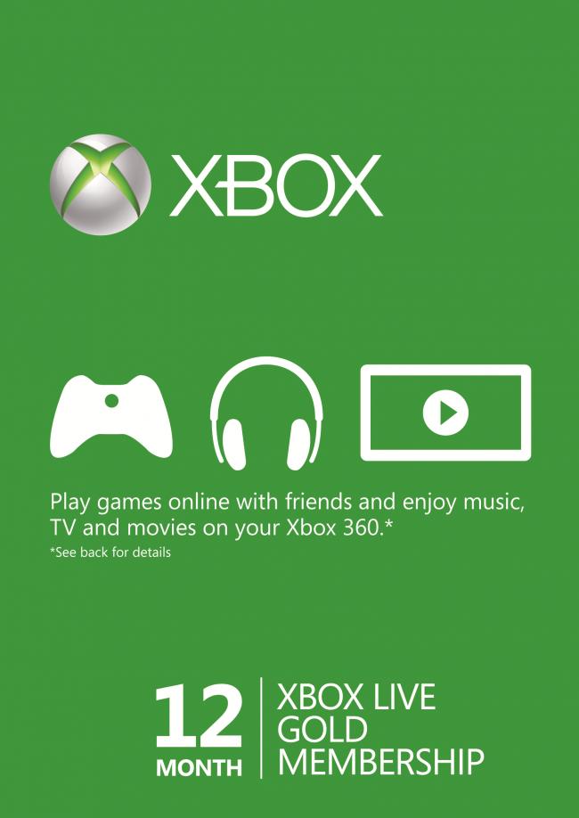 XBox Live Gold 12 Months  CDKeys    USA SAFE $46.55