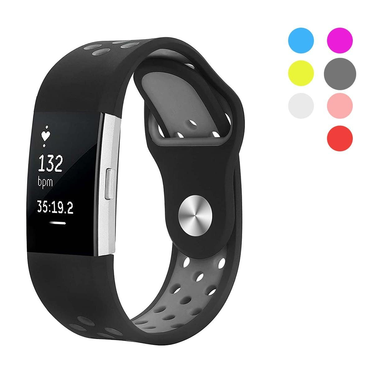 Fitbit Charge 2 Bands for Sport  (Various colors) - $7.49 + Free Shipping