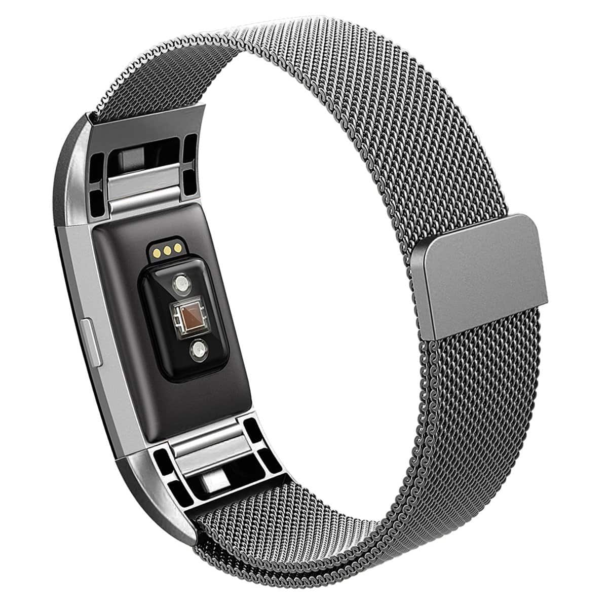 Fitbit Charge 2 Stainless Steel Band (Various colors) - $11.24 + Free Shipping+10%Coupon