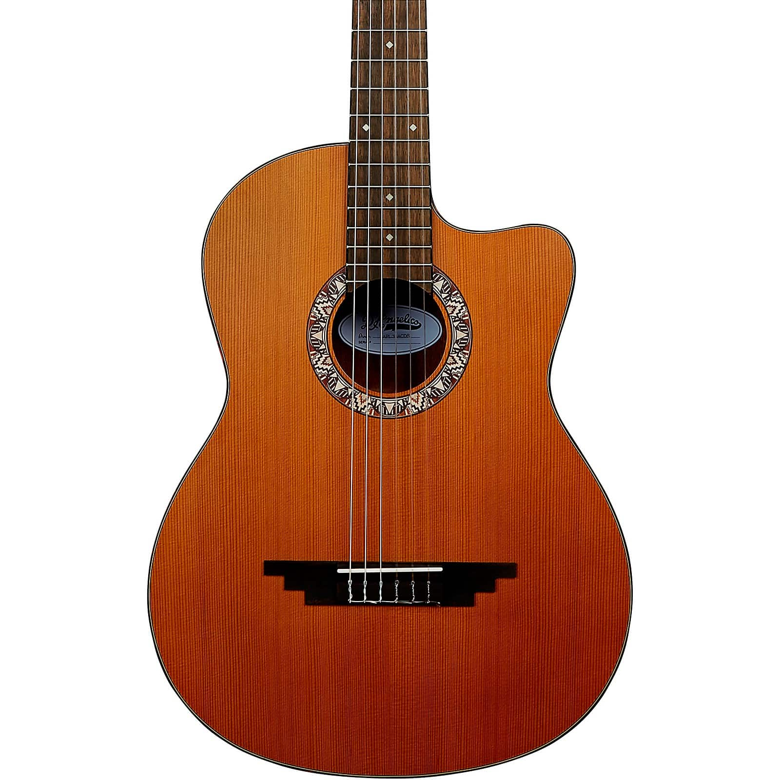 Musician's Friend: D'Angelico Premier Malta Crossover Classical Guitar Natural Sale Price $149.99 + FS