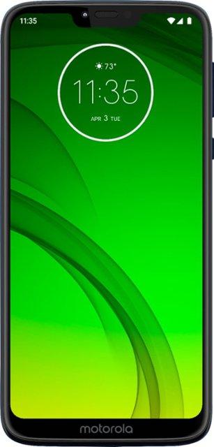 32GB Moto G7 Power Unlocked Smartphone + $50 Simple Mobile Prepaid Card + $1 Sim $203.49