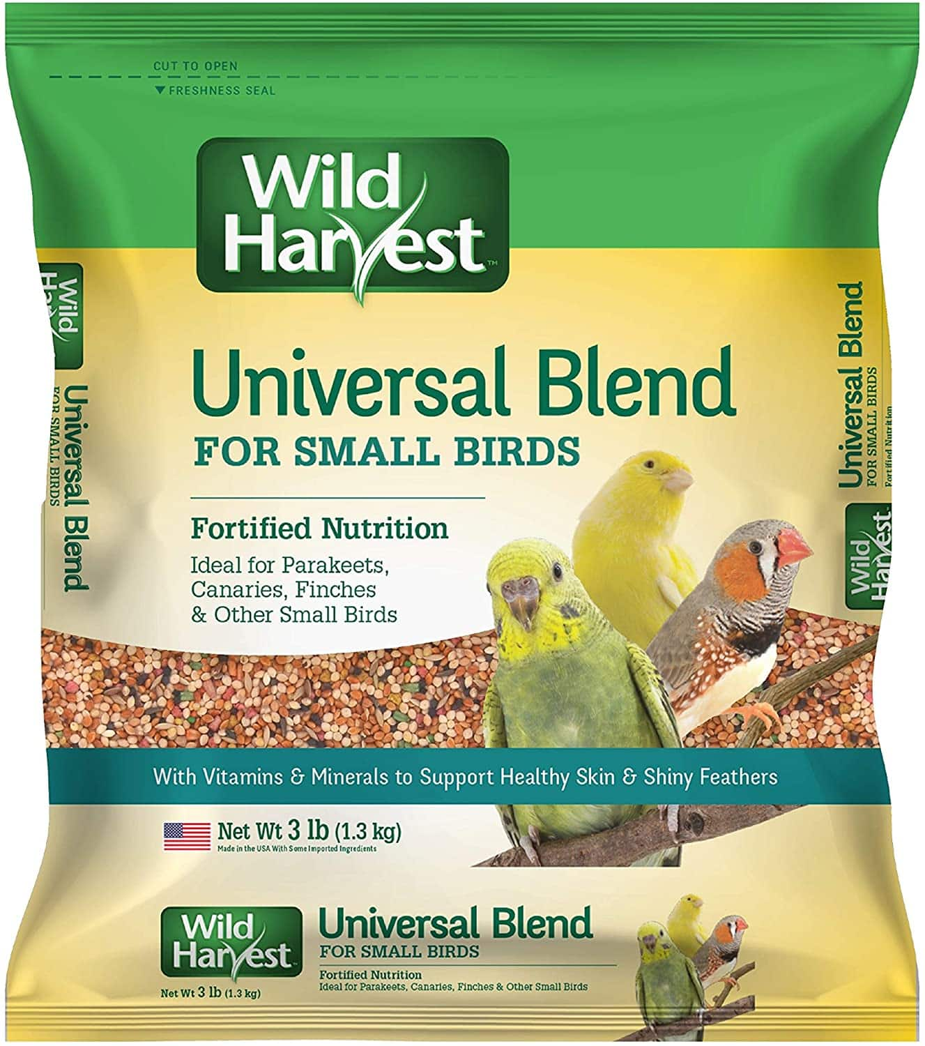 3-Lb Wild Harvest Universal Blend Small Bird Food $3.20 + Free Shipping w/ Prime or $25+