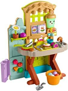 Fisher-Price Laugh & Learn Grow-The-Fun Garden Play Kitchen $39 + Free Shipping