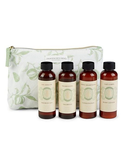 4-Piece Panier Des Sens Soothing Almond Wellness Travel Ritual Set $5 & More + Free S&H w/ ShopRunner