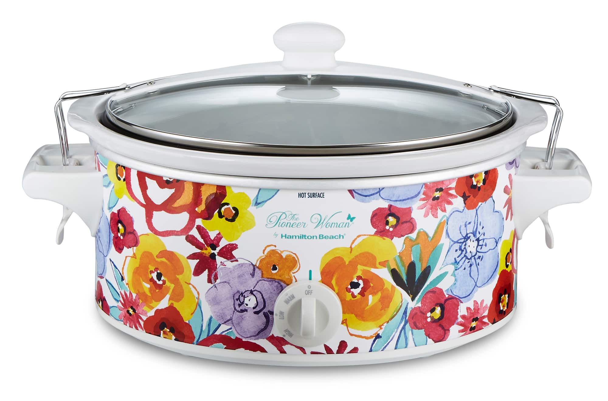 6-Quart The Pioneer Woman Portable Slow Cooker (Flea Market Floral) $25 + Free S&H w/ Walmart+ or $35+