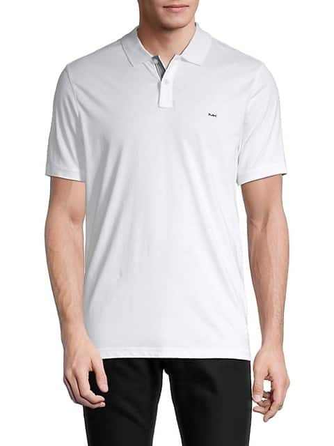 Men's Michael Kors MK Crest Polo Shirt (White or Midnight) $25 + Free Shipping w/ SR