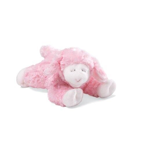 "Baby GUND 7"" Winky Lamb Stuffed Animal Plush Rattle (Pink) $4.60 + Free Shipping w/ Prime or $25+"