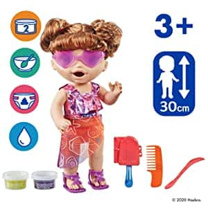 Baby Alive Sunshine Snacks Doll (Eats & Poops) $7 + Free Shipping w/ Prime or $25+