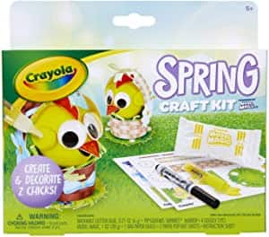 Crayola Model Magic Air Dry Clay Modeling Craft Kit (Spring) $2.65 + Free Shipping w/ Prime or $25+