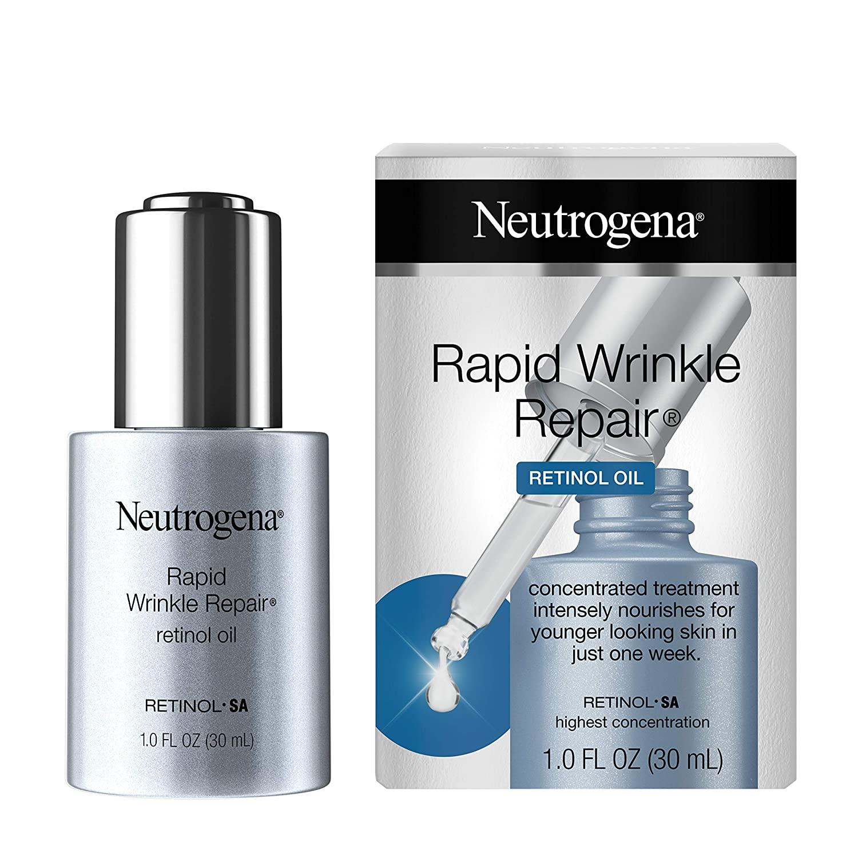 1-Oz Neutrogena Rapid Wrinkle Repair Anti-Wrinkle Retinol Face Serum Oil $13.30 + Free S&H w/ Prime or $25+