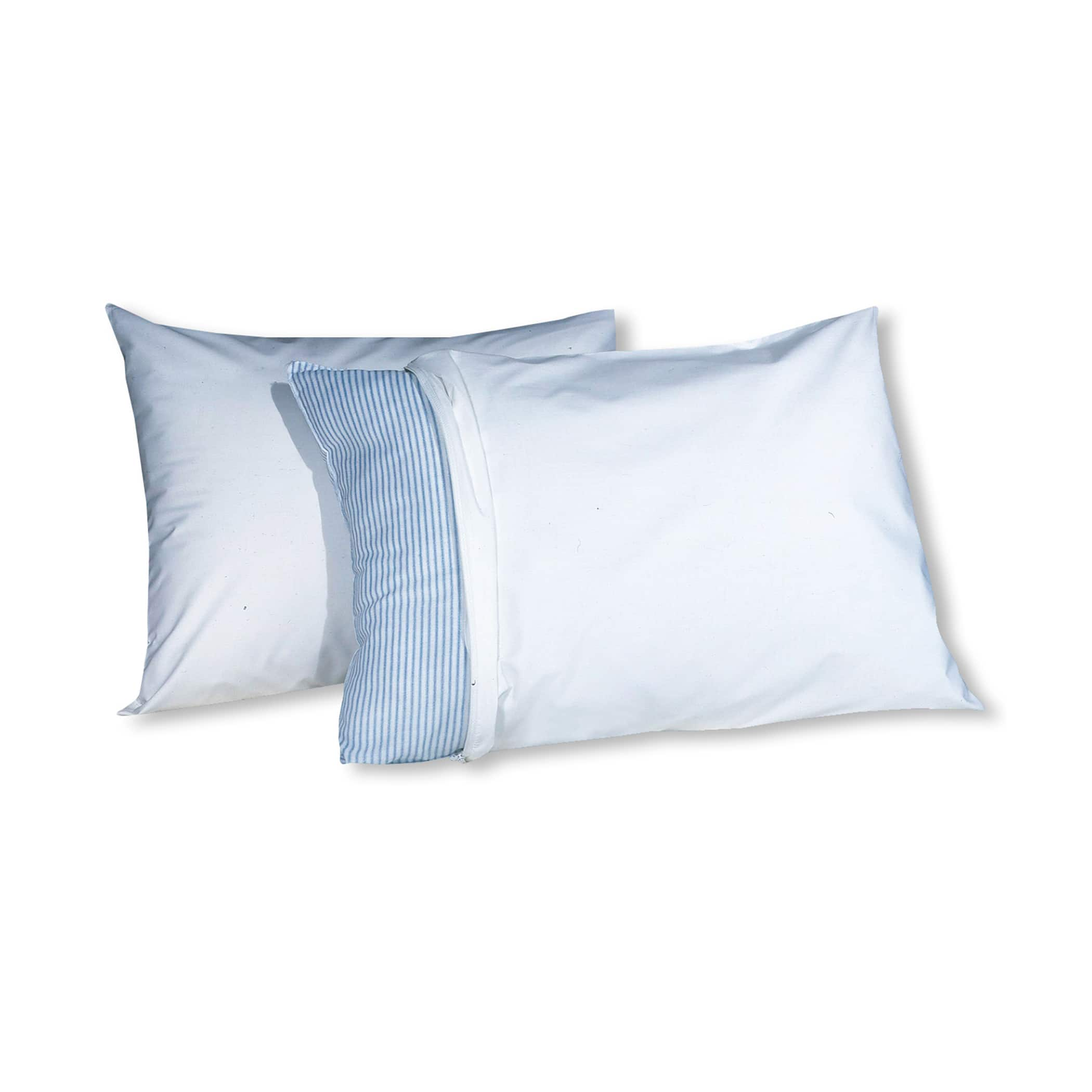 2-Pack Pillow Guard Allergy Relief Pillow Protectors (Standard) $2.90 + Free Shipping w/ Walmart+ or $35+