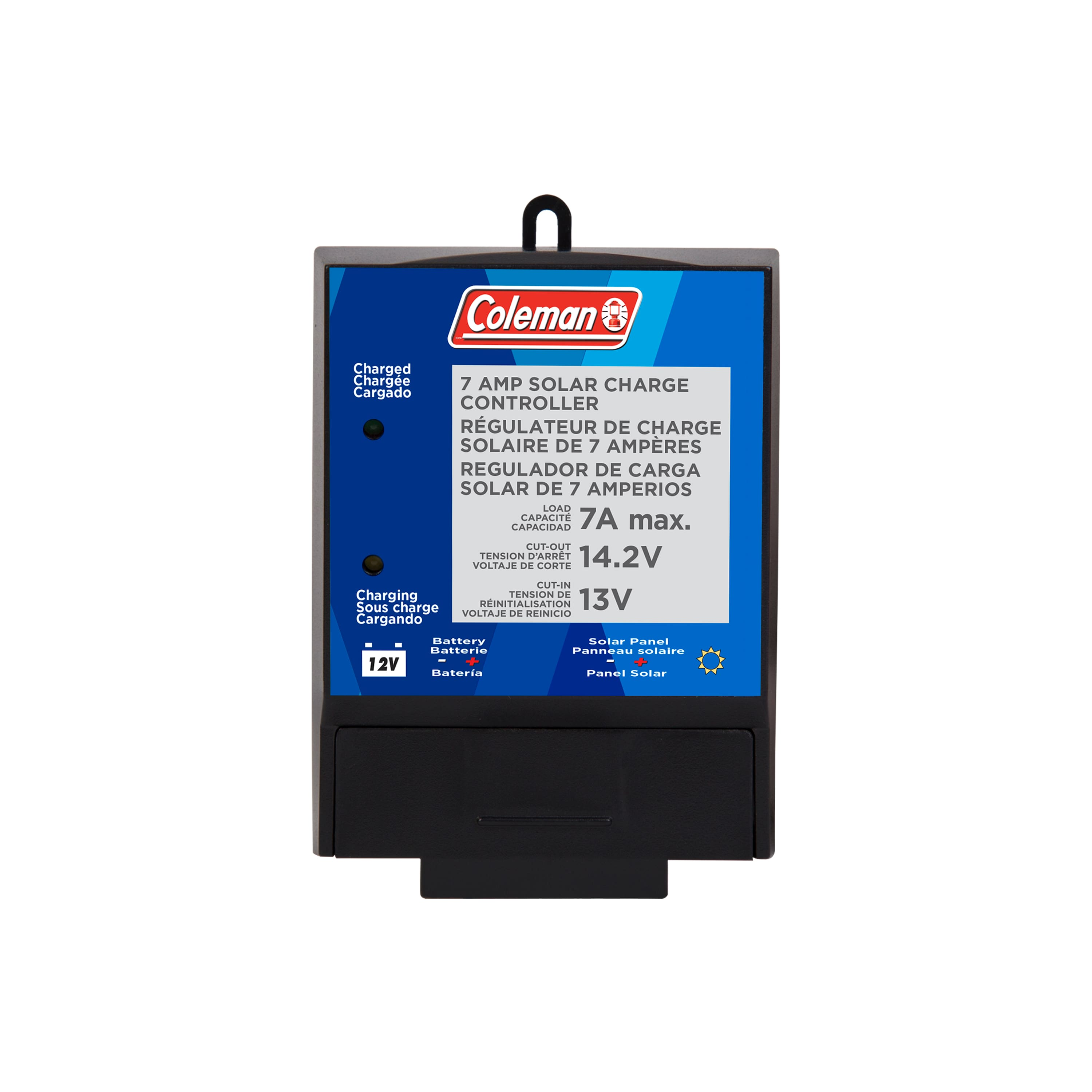 Coleman 7-Amp Solar Charge Controller $10.25 + Free Shipping w/ Walmart+ or $35+