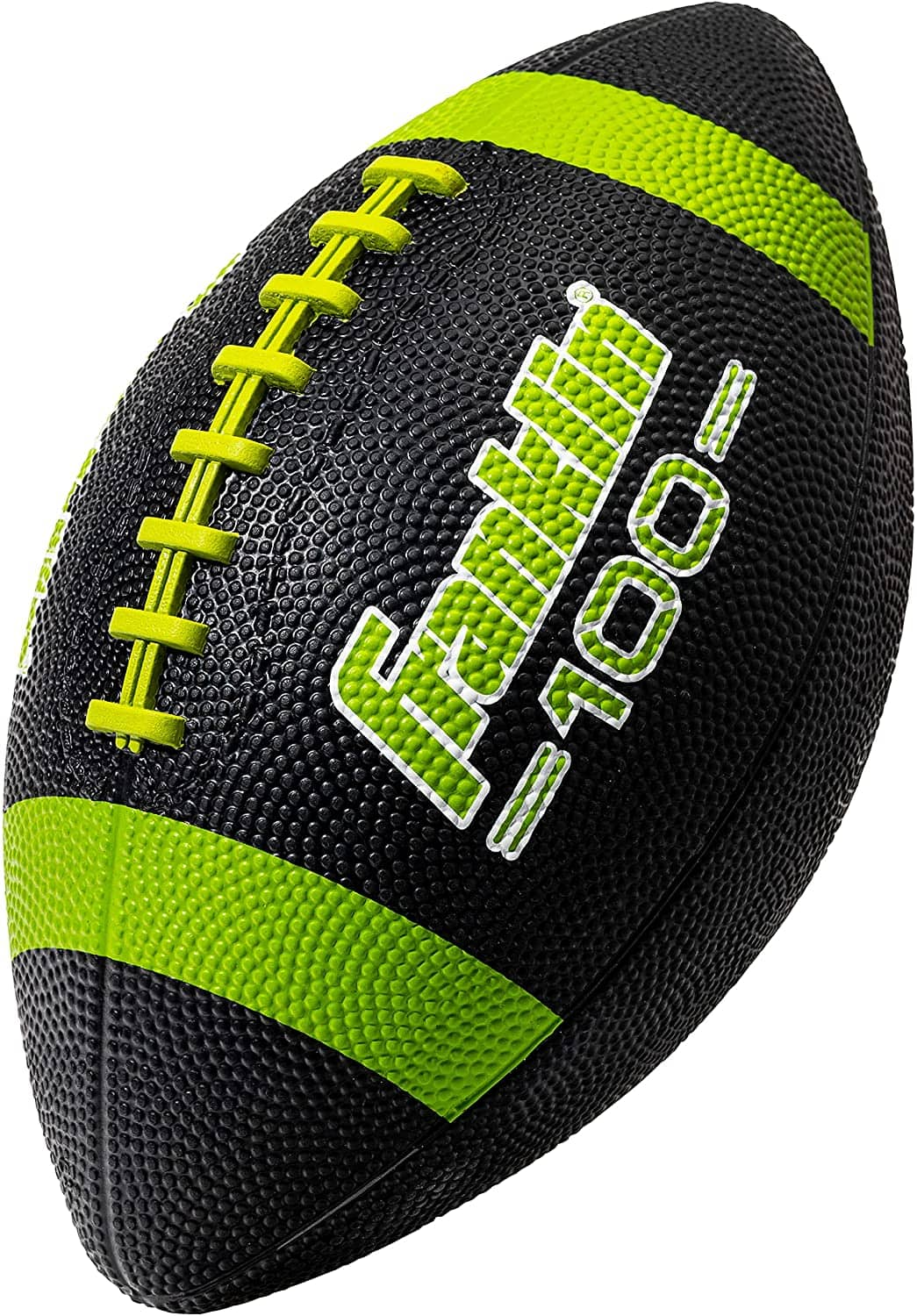 Franklin Sports Grip-Rite 100 Rubber Junior Football (Black or Blue) $4.90 + Free Shipping w/ Prime or $25+
