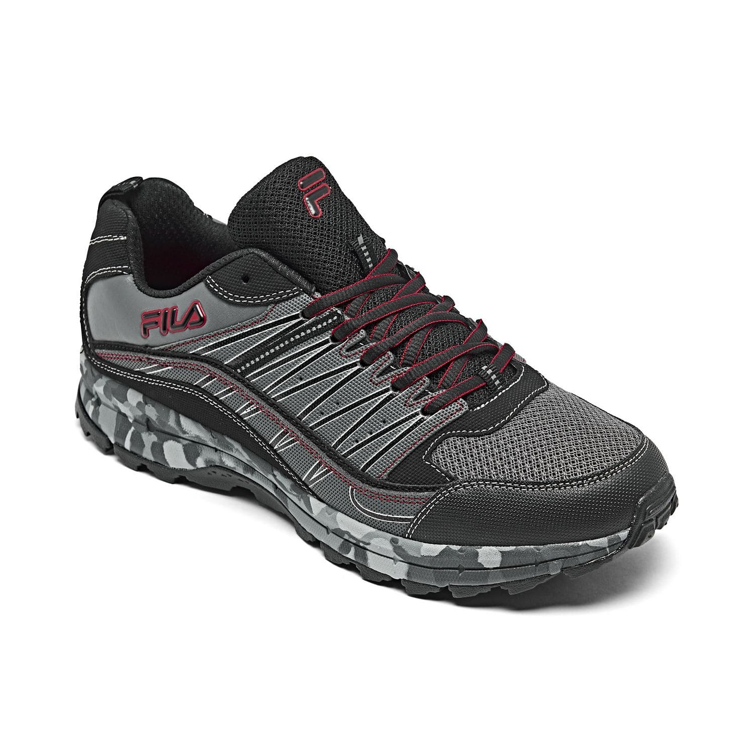 Fila Men's Fondato 4 Running Sneakers $10, Evergrand TR Trail Running Sneakers $15 (Limited Sizes) or less w/ SD Cashback & More at Macy's w/ Free S&H on $25+