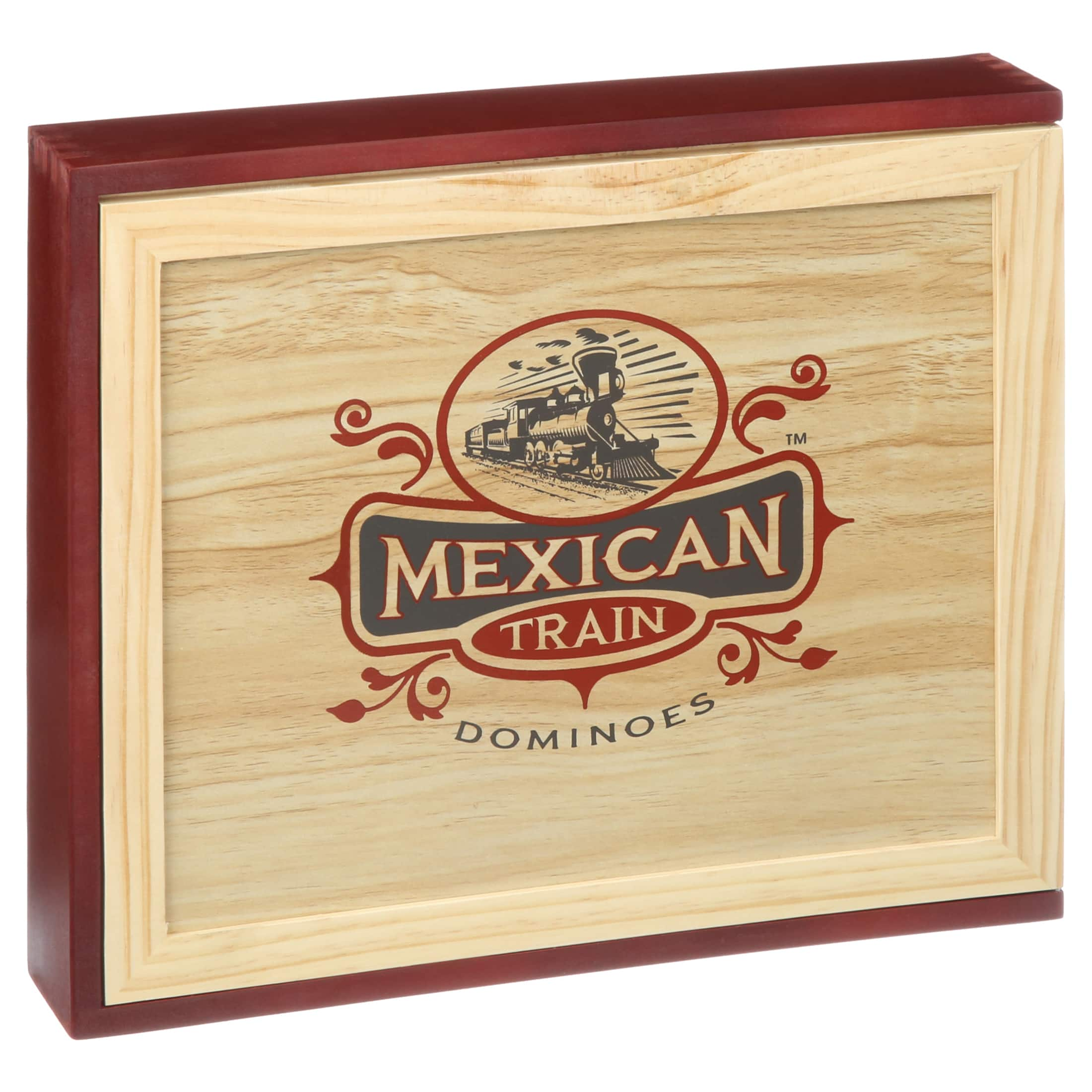 Front Porch Classics: Mexican Train Dominoes Box Set $12 + Free Shipping w/ Walmart+ or $35+