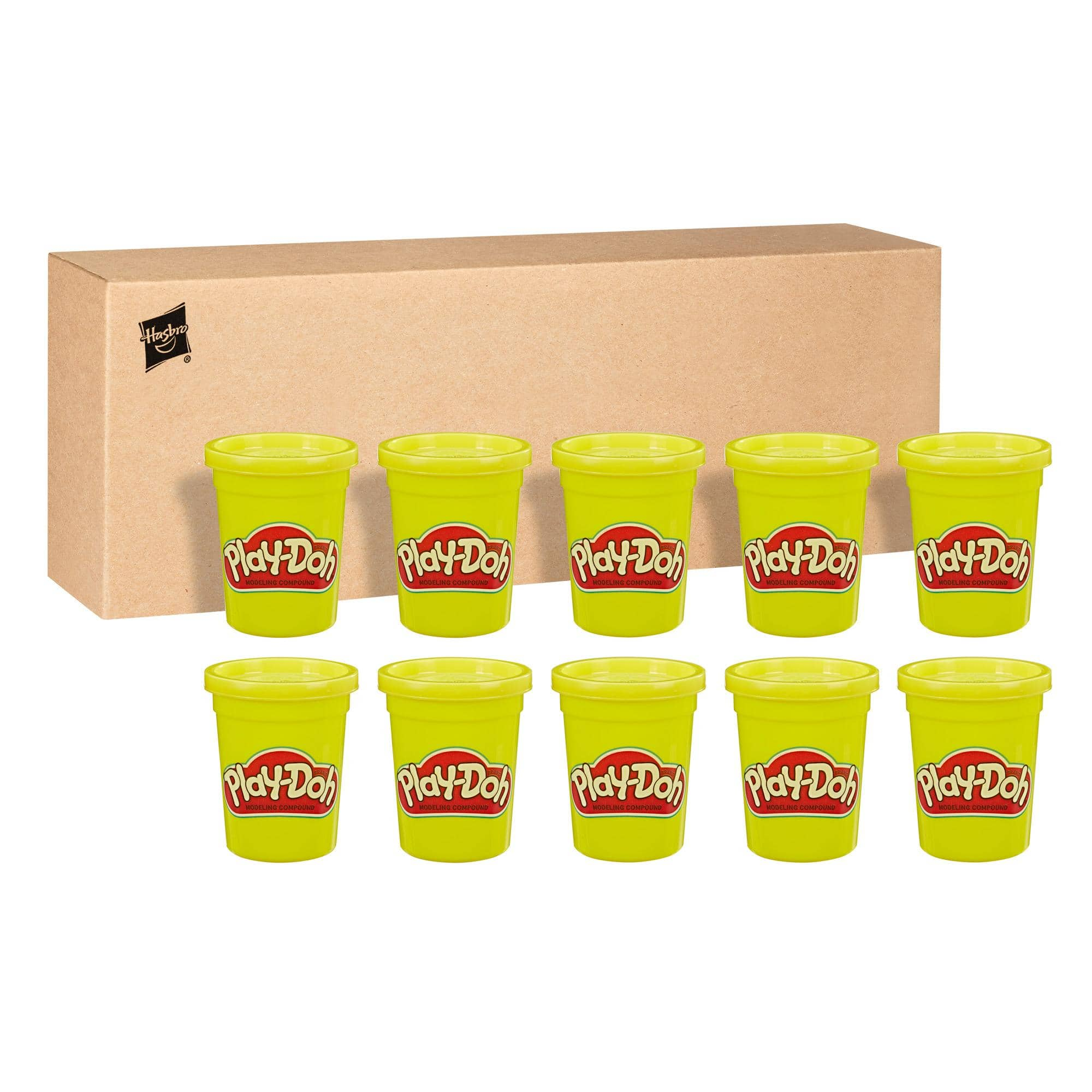 12-Pack 4-Oz Play-Doh Modeling Compound (Yellow) $3.65 + Free Shipping w/ Walmart+ or $35+