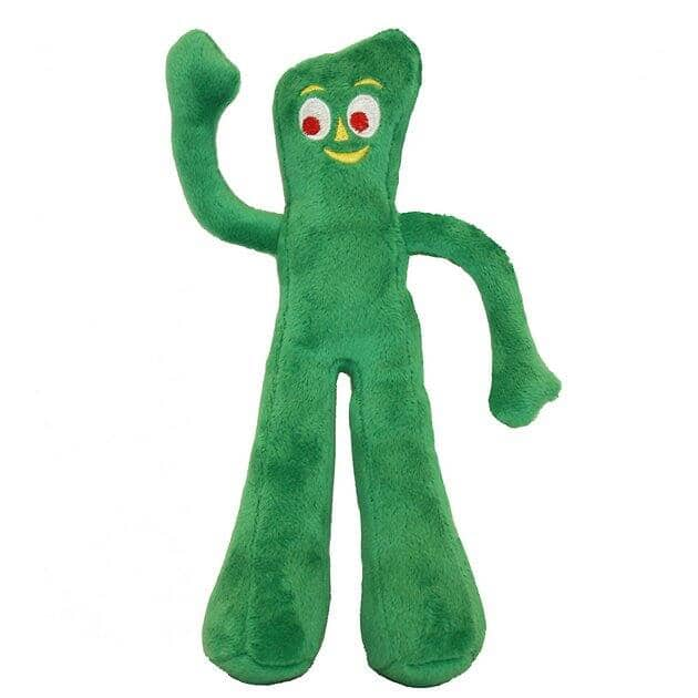 """9"""" Multipet Gumby Squeaky Plush Dog Toy $2.70 + Free Shipping w/ Prime or $25+"""