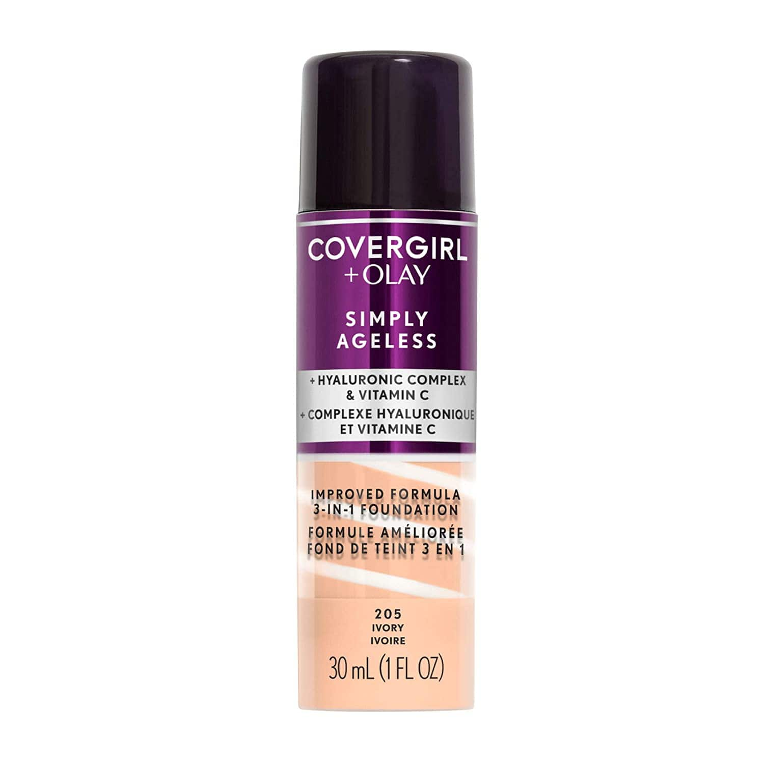 Covergirl & Olay Simply Ageless 3-in-1 Liquid Foundation (Multiple Shades) $6.95 w/ S&S + Free Shipping w/ Prime or $25+