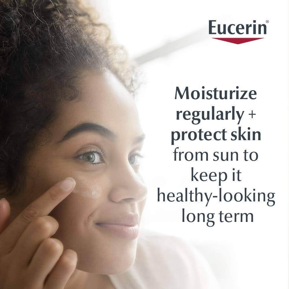 2-Pack 4-Oz Eucerin Daily Protection Face Lotion (SPF 30) $7.60 w/ S&S + Free Shipping w/ Prime or $25+