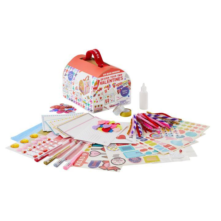 Kid Made Modern Design Your Own Valentines Craft Kit (Makes 24 Cards) $8.75 or less w/ SD Cashback at Macy's w/ Free Store Pickup