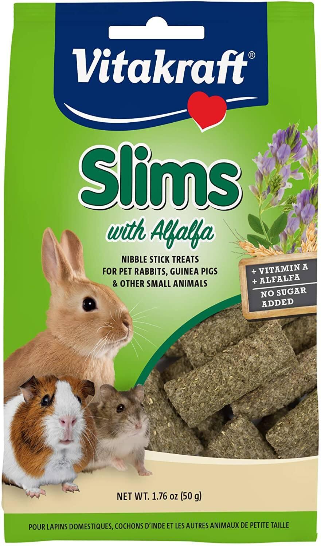 1.76-Oz Vitakraft Slims with Alfalfa Nibble Stick Treats $1 w/ S&S + Free Shipping w/ Amazon Prime or  $25+
