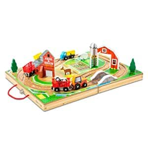 17-Piece Melissa & Doug Wooden Take-Along Tabletop Farm $20 + Free Shipping w/ Prime or $25+