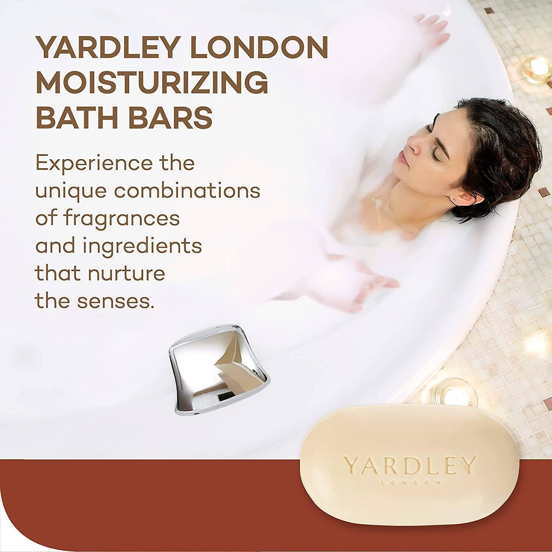 4.25-Oz Yardley London Pure Cocoa Butter & Vitamin E Bar Soap $0.70