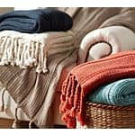Pottery Barn: Bryson Knit Throw (Tumbleweed) $16.99 (was $59) + Free Shipping