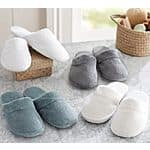 Pottery Barn Luxe Cozy Slippers (Various Colors)  $6.80 + Free Shipping