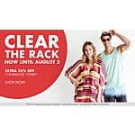 Clear the Rack!  Extra 25% Off Clearance Items @ Nordstrom Rack (Clothes, Shoes, Bags)