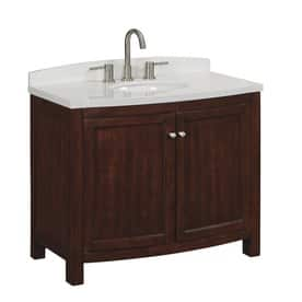 allen + roth Moravia Sable Undermount Single Sink Vanity with Engineered Stone Top $160 (was $400) YMMV