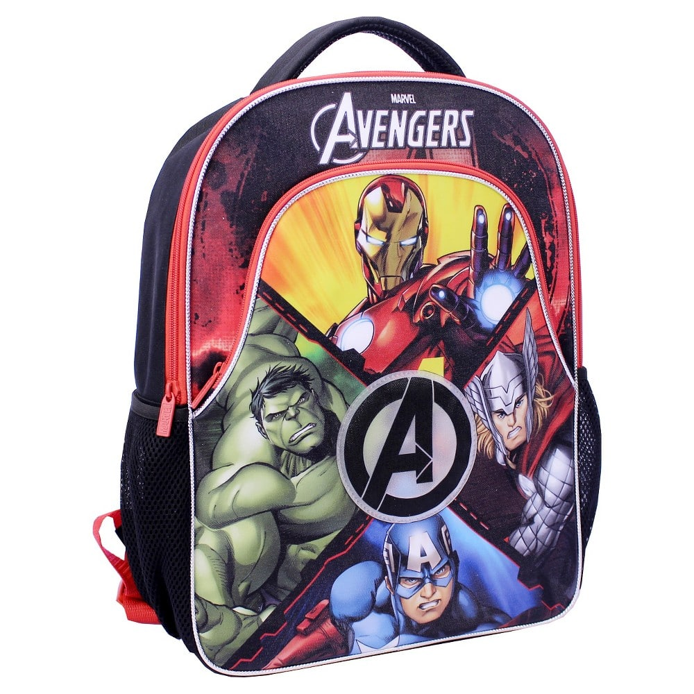 "Avengers Light Up 16"" Backpack $7 (was $20) Target YMMV B&M"