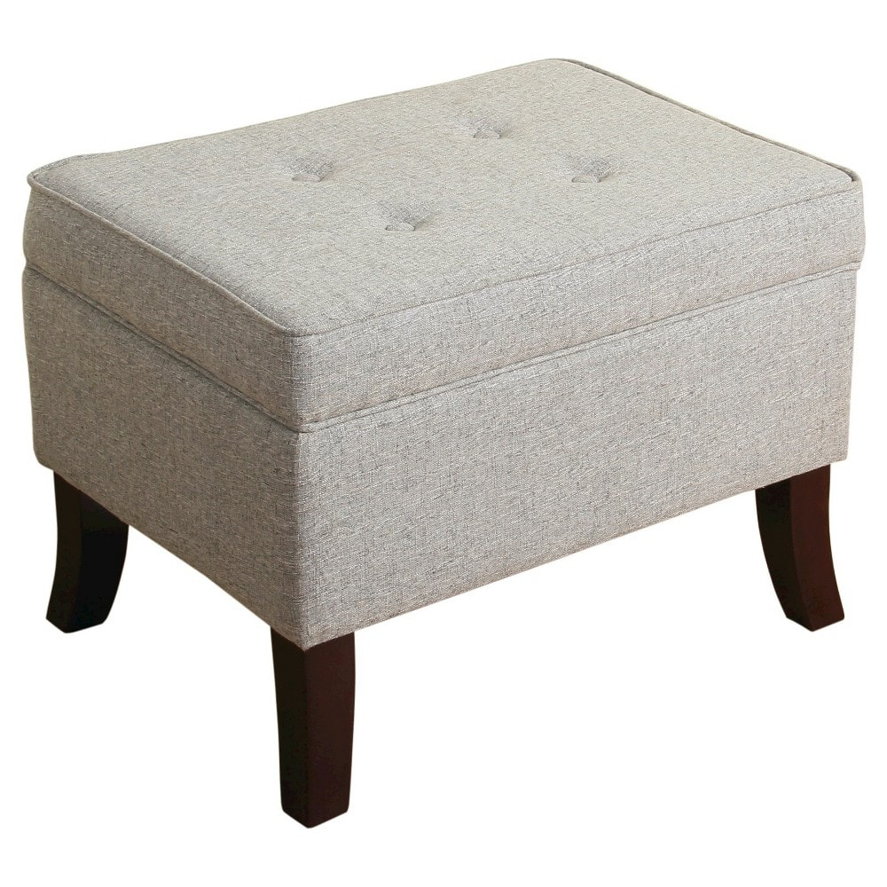 Clayton Flared Leg Storage Ottoman $31.48 Target (Save 65%)