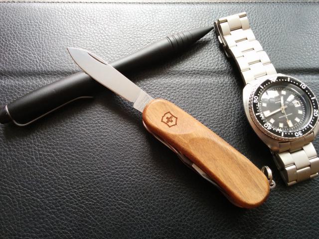 Victorinox EvoWood 14 Swiss Army Knife - Walnut $25 @ Target