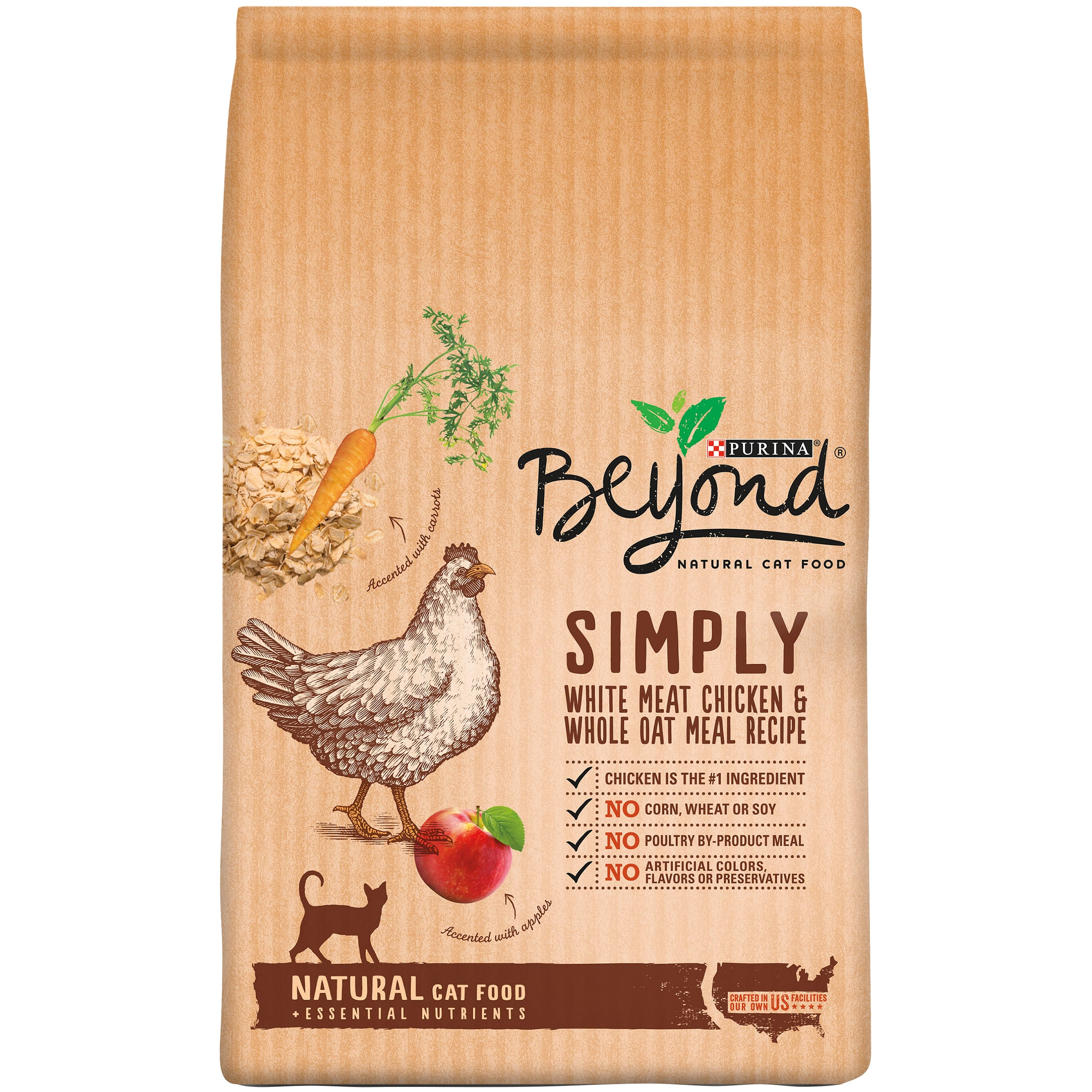 Purina Beyond Cat Food >> Purina Beyond White Meat Chicken Cat Food 3 lb. Bag x 2 = $12 + $5 Target GC - Slickdeals.net