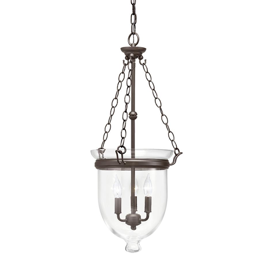 Spectacular Lowe us Kichler Belleville Olde Bronze Williamsburg Glass Pendant Light Save YMMV Slickdeals net