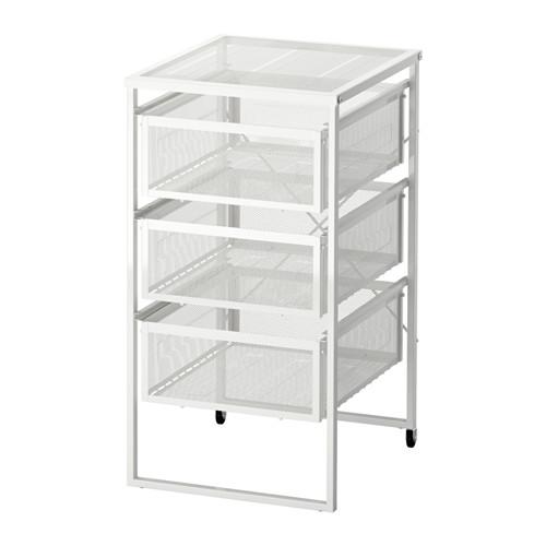 IKEA: Lennart Drawer Unit w/ Casters, White $15