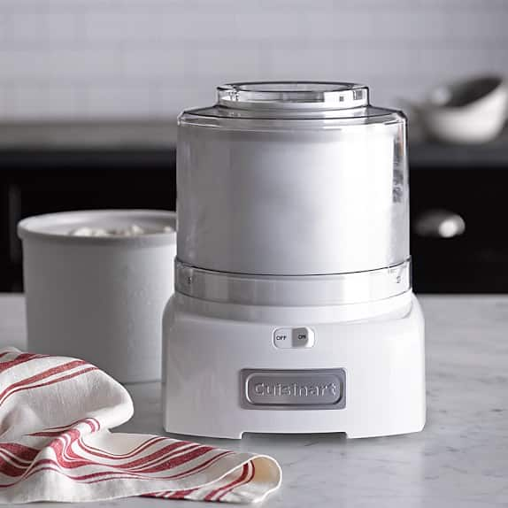 Cuisinart Ice Cream Maker with Extra Freezer Bowl (Aqua) $43.99 + Free Shipping