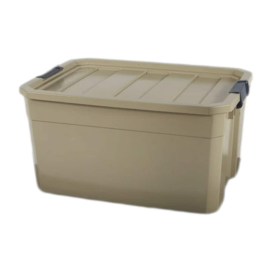 Lowe's: Blue Hawk 19-Gallon Bronze Storage Tote with Latching Lid $6 (YMMV)