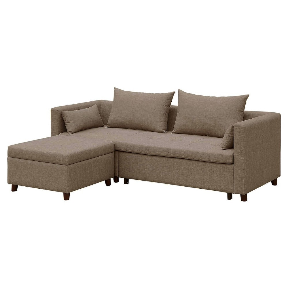Target Cromwell Convertible Sofa With Ottoman 370 Converts To Bed