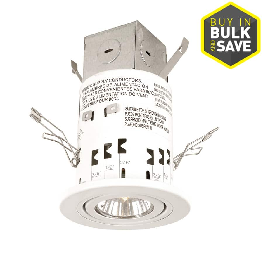 lowe s utilitech recessed ceiling light kits from 5 save 60
