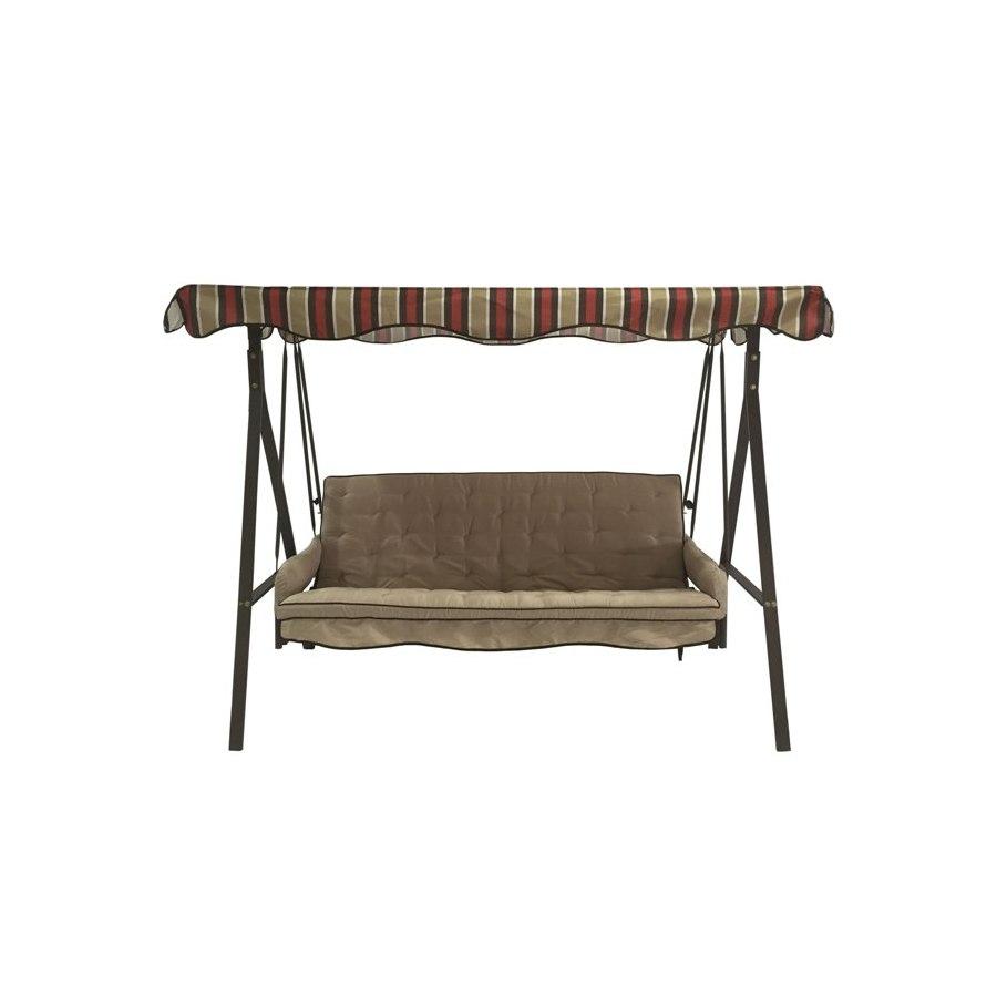Elegant Lowe us Garden Treasures Steel Frame Porch Swing